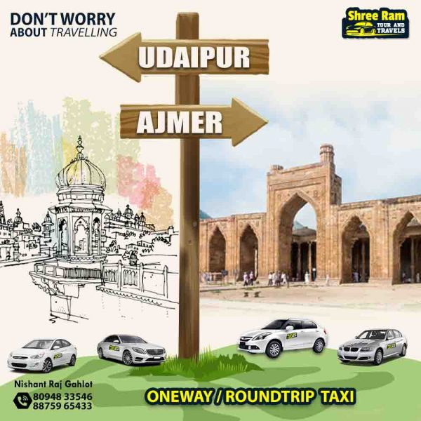 udaipur to ajmer taxi