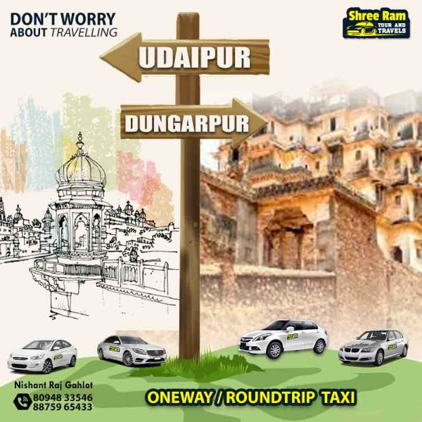 udaipur to dungarpur taxi