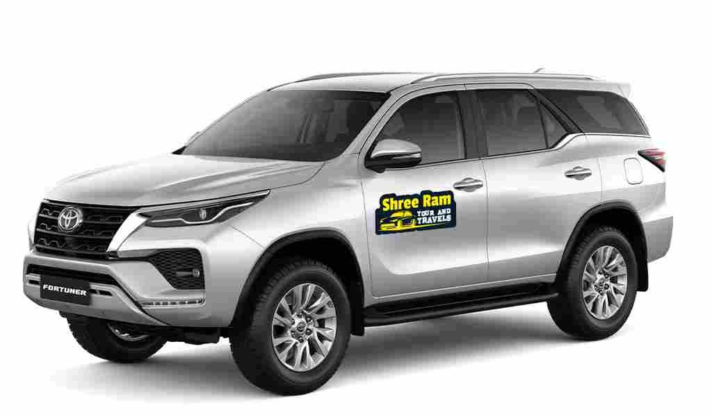 fortuner oneway roundtrip udaipur taxi