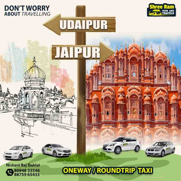 udaipur to jaipur taxi