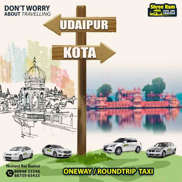 udaipur to kota taxi