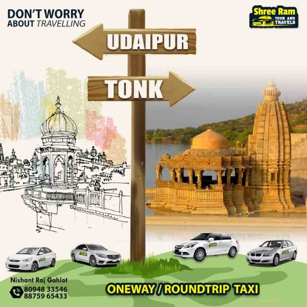 udaipur to tonk taxi